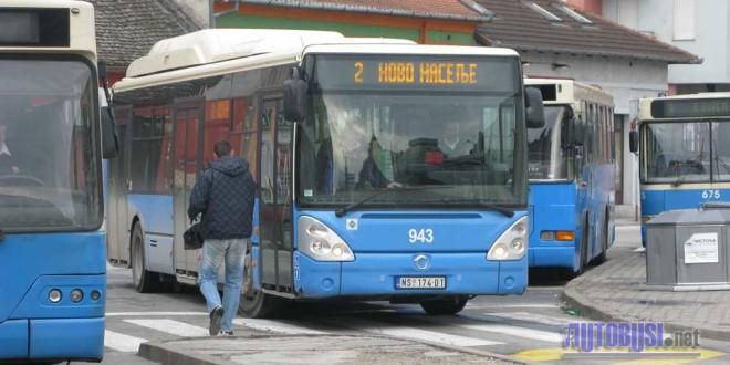 U Novom Sadu manji broj polazaka autobusa
