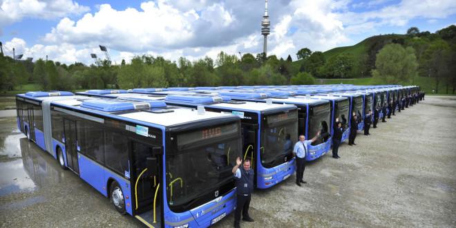 Novi MAN zglobni autobusi za Minhen