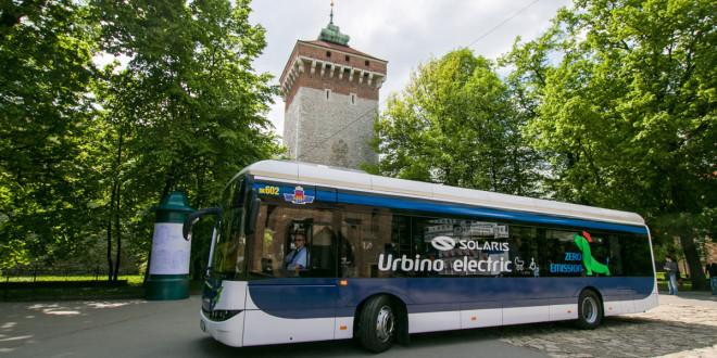 Električni Solaris na probi u Krakovu