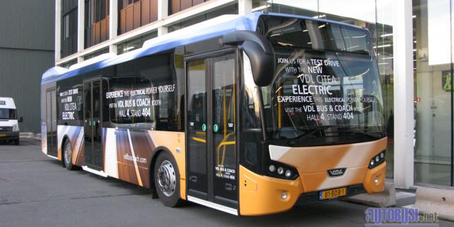 15 VDL Citea Electric startuje u Holandiji