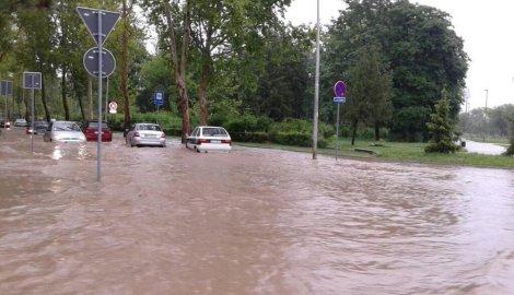 U Nišu izmena trasa linija usled obimnih padavina