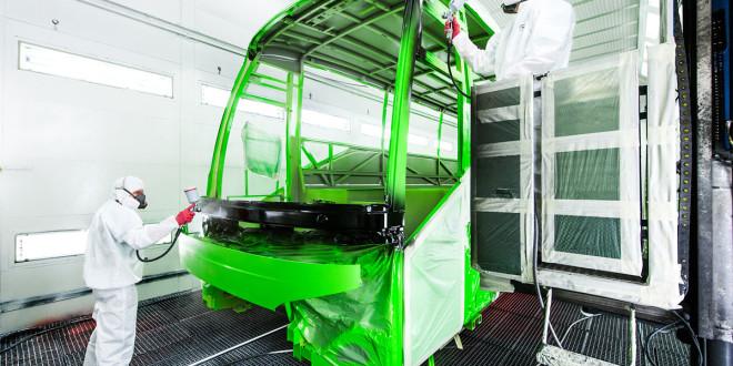 U fabrici EvoBus ofarban 60.000. autobus