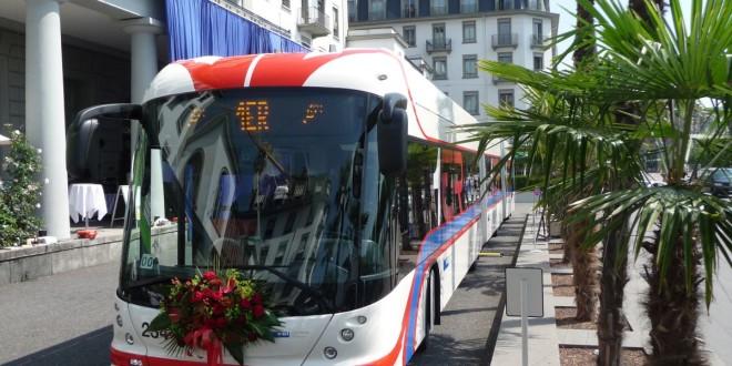 Dvozglobni trolejbusi za Lucern