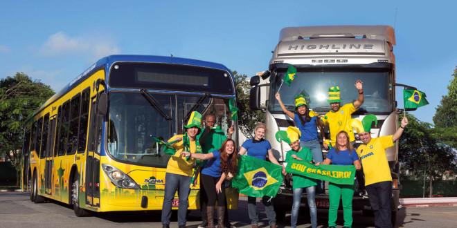 Scania nosi boje Brazila