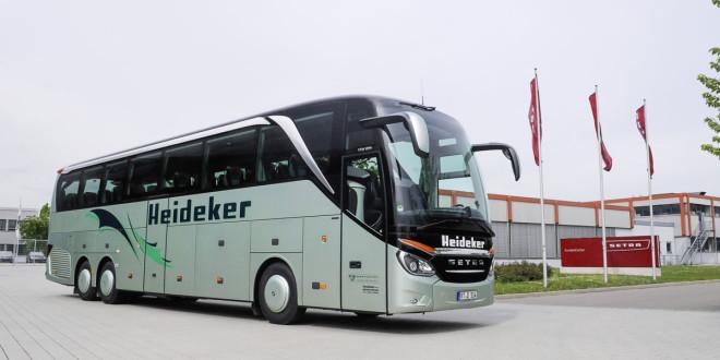 Heideker vozi TopClass 500