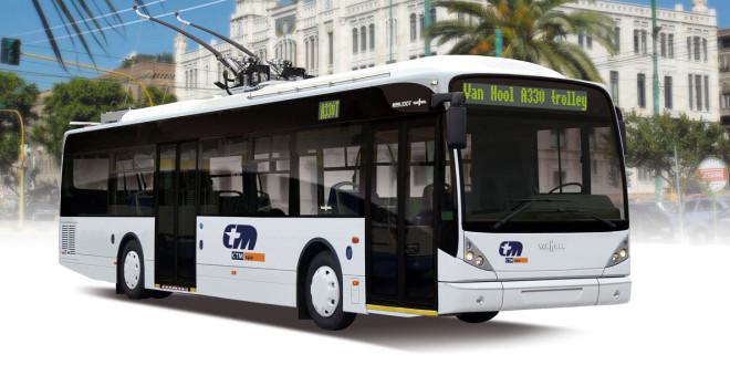 Van Hool trolejbusi za Sardiniju