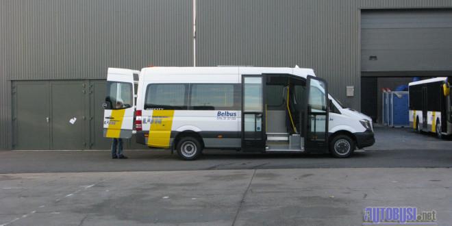 VDL MidCity minibusi za De Lijn