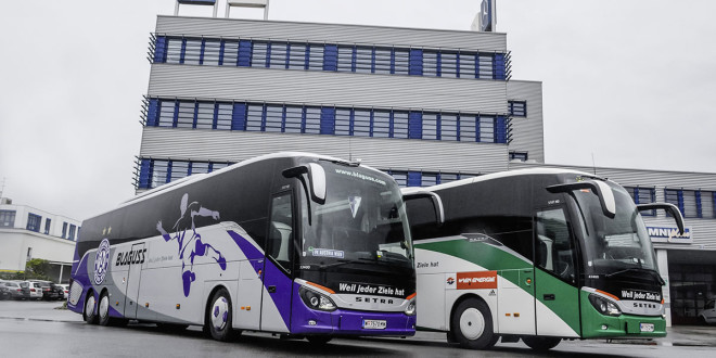 Blaguss vozi fudbalere novim Setra autobusima