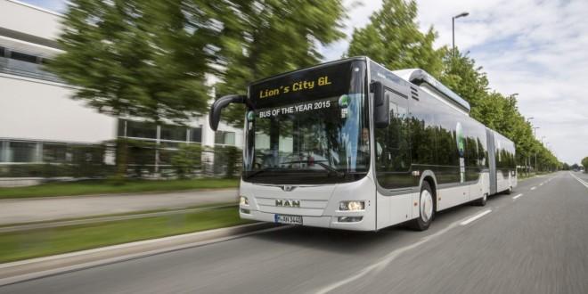 MAN Lion's City GL CNG – Autobus godine 2015.