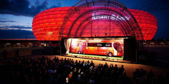 Novi klupski autobus za FC Bayern
