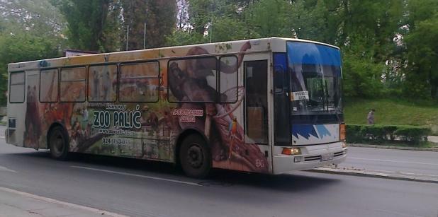 SU: Promena trase gradskih linija u nedelju 31.08.2014.