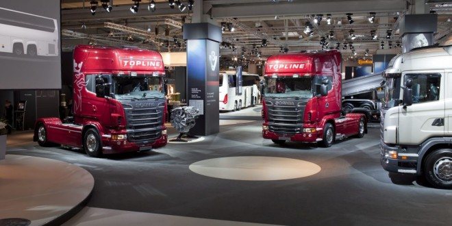 Scania sa 11 vozila na IAA