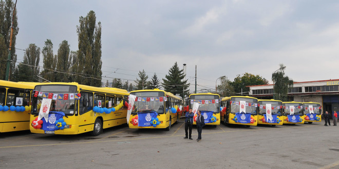 Sarajevo bogatije za 15 autobusa