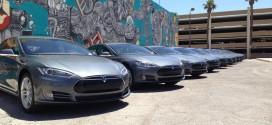 Električni Tesla kao gradski prevoz u Las Vegasu