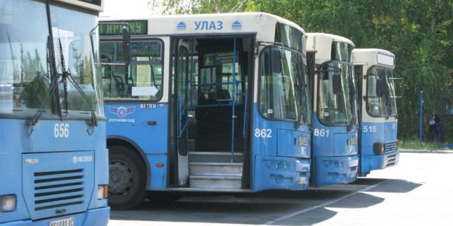 NS: Izmene trasa linija zbog zatvaranja Jevrejske ulice