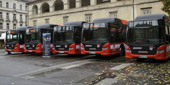 Maribor bogatiji za 5 Scania CNG