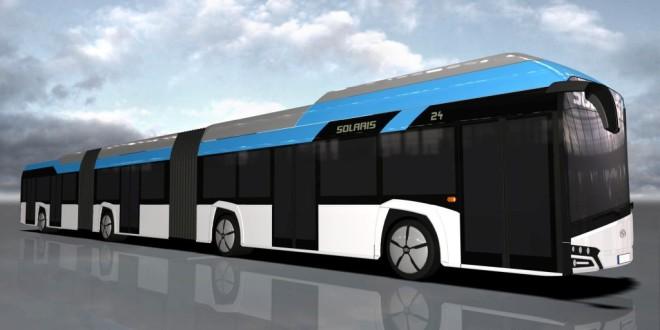 Solaris razvija dvozglobni električni autobus