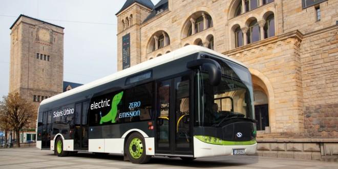 Varšava kupuje 10 električnih Solarisa