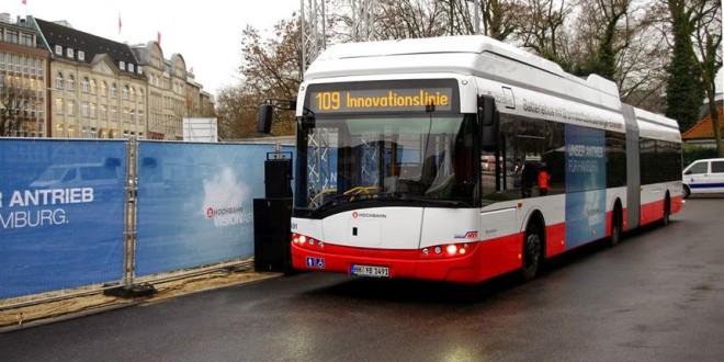 Električni zglobni Solaris sa gorivnom ćelijom za Hamburg