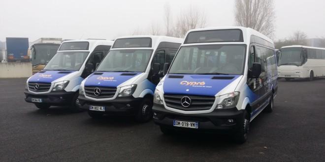 Midibusi VDL MidCity za Francusku