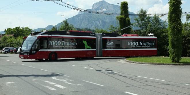 Solarisov jubilarni 1000. trolejbus