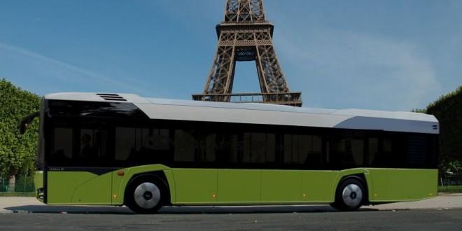 Novi Solaris Urbino electric na testu u Parizu