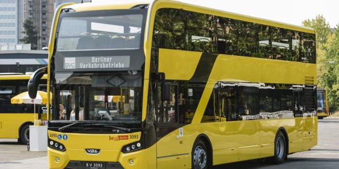 BVG stellt den neuen VDL-Doppeldecker vor