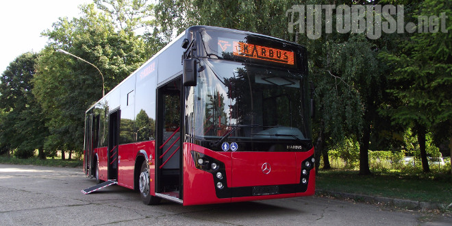 FOTO I VIDEO: Isporuka Ikarbus-Mercedesa za GSP Beograd