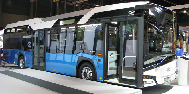 Busworld 2015: Inovacija i ekologija aduti Solarisa