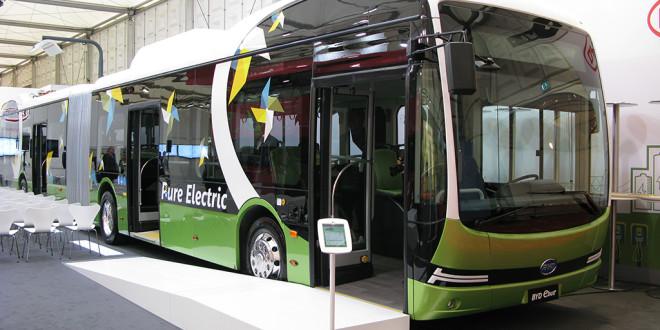 Busworld 2015: Električni BYD u većim izvedbama