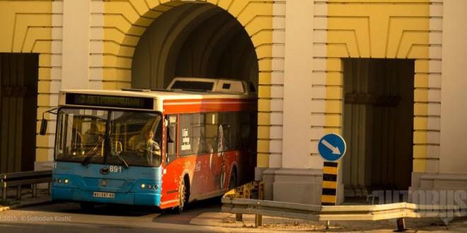 NS: Radovi na Beogradskoj kapiji menjaju trase autobusa