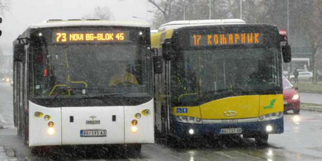 BG: Ulaz u autobuse samo na prednja vrata?