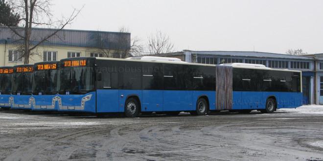 """JGSP """"Novi Sad"""" kupuje još 9 solo autobusa"""