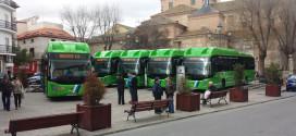 Scania na gas za Madrid