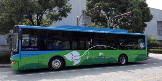 FOTO: Električni autobusi stižu u Beograd