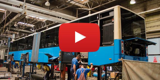 VIDEO: Novi zglobni Ikarbusi uskoro sa trake