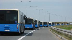 Isporuka deset Ikarbusa za Novi Sad. © Saša Conić