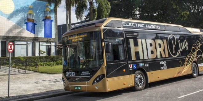 Hibridni Volvo na ispitu u Brazilu