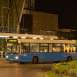Prvi serijski proizveden niskoulazni autobus u Srbiji - na šasiji Volvo. © Slobodan Kostić