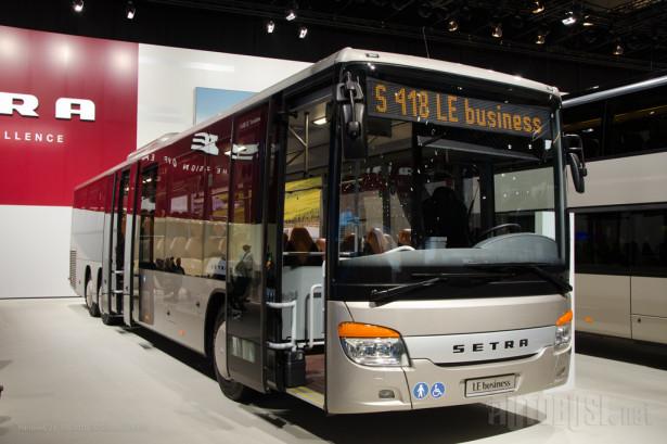 Setra S418LE - troosovinski prigradski autobus sa niskim ulazom