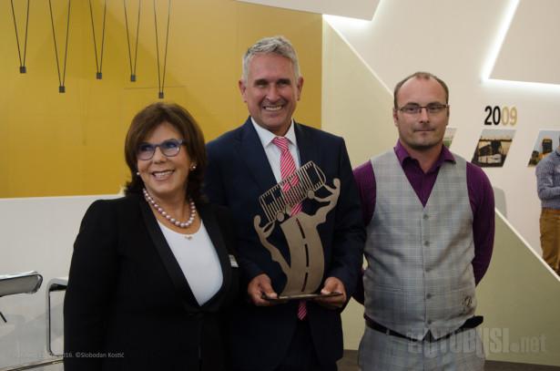 Solarisu uručena nagrada za Autobus godine 2017.