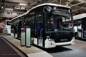 Scania Citywide LE Hybrid - hbiridni autobus sa devetolitarskim dizel motorom