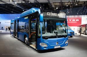 Citaro NGT je učestvovao u takmičenju za Autobus godine.