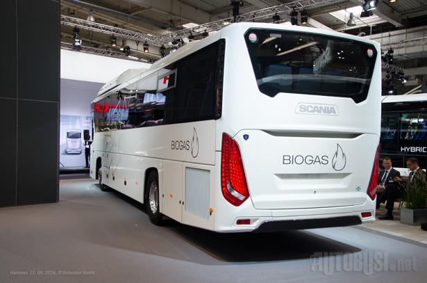 Osim biogasa, Interlink može da vozi na dizel, bioetanol i druge alternativne pogone.