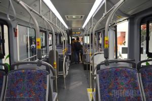 Zbog težine baterija, ovaj autobus može da primi samo 68 putnika.