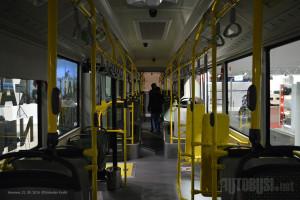 Zglobni autobus za Grac ima 36 sedišta.