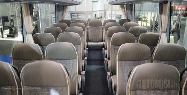 EX15H može da primi do 55 putnika.