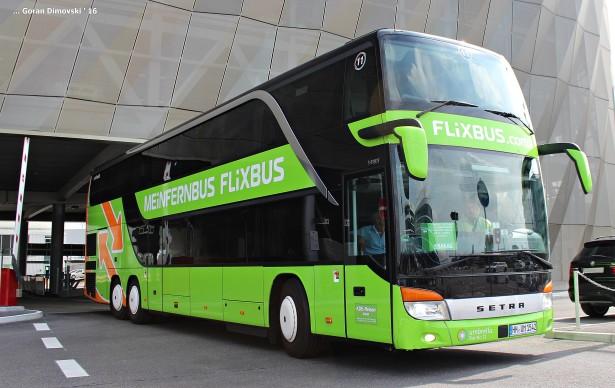 FlixBus je vodeći low cost prevoznik u Nemačkoj, a ukupno broji oko 1000 autobusa. (©Goran Dimovski)