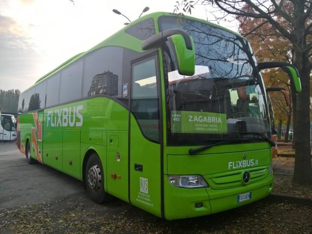 Italijanski FlixBus u Zagrebu. (©mate, Autobusi.NET)