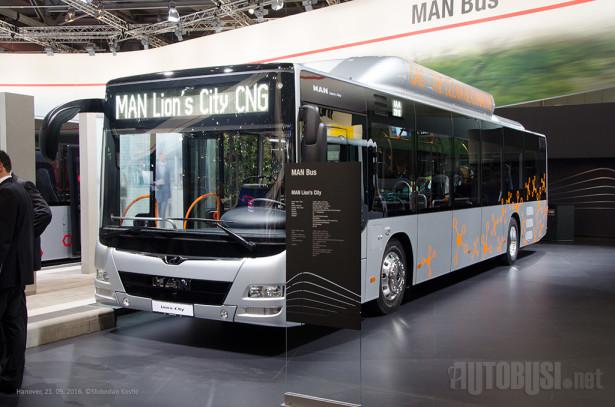 MAN se pohvalio činjenicom da je 39% gasnih komercijalnih vozila pod njihovim brendom.